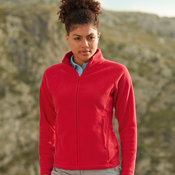 Fruit of the loom Lady-Fit Full Zip Fleece