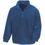 Active ¼ zip fleece top