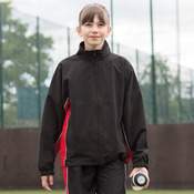 Kids piped track top