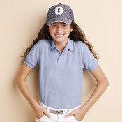 DryBlend™ youth double pique sports shirt