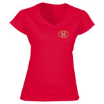 Sutton Weavers - Softstyle™ women's v-neck t-shirt