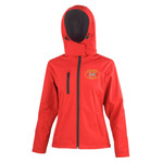Sutton Weavers - Result Core TX performance ladies Hooded Softshell Jacket