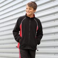 Kids piped microfleece jacket Thumbnail