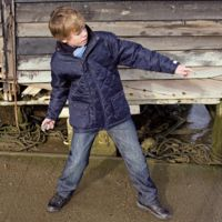 Junior urban Cheltenham jacket Thumbnail