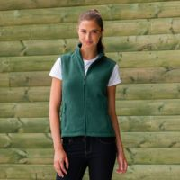 Ladies Outdoor Fleece Gilet Thumbnail