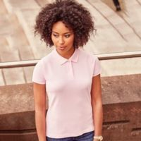 Women's 100% cotton polo Thumbnail