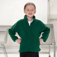 Kid's full zip outdoor fleece Thumbnail
