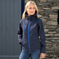 Result Core TX performance ladies Hooded Softshell Jacket Thumbnail