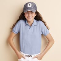 DryBlend™ youth double pique sports shirt Thumbnail
