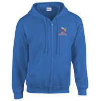 North Derbyshire - HeavyBlend™ adult full zip hooded sweatshirt Thumbnail